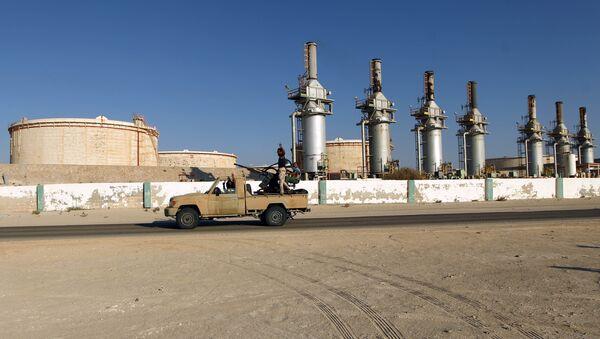Un terminal de pétrole en Libye - Sputnik France