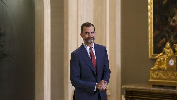 Le roi d'Espagne Felipe VI - Sputnik France