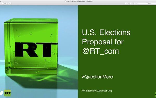 Voici des diapositives extraites de la présentation que Twitter a faite à RT - Sputnik France