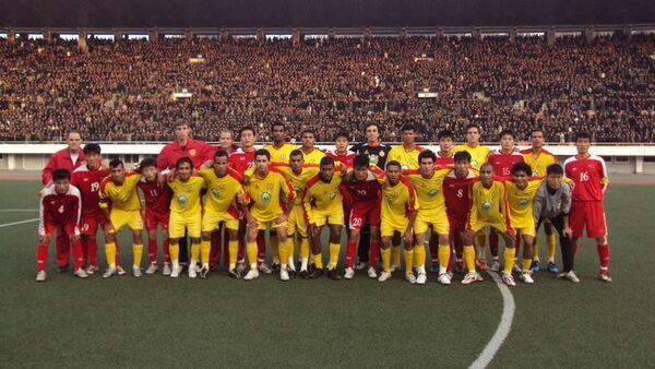 Le club de football «Atlético de Sorocaba» a disputé quatre matchs au stade de Pyongyang - Sputnik France