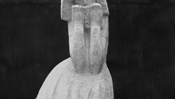 Sculpture d'Anne Frank - Sputnik France