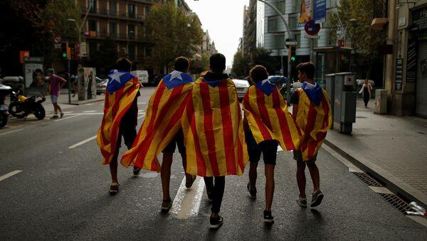 Etudiants catalans à Barcelone - Sputnik France
