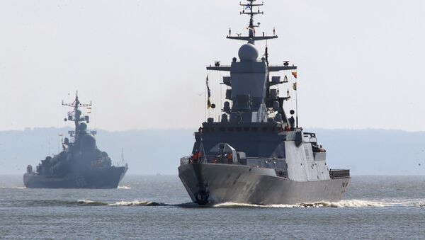Des navires de la Flotte russe de la mer Baltique - Sputnik France
