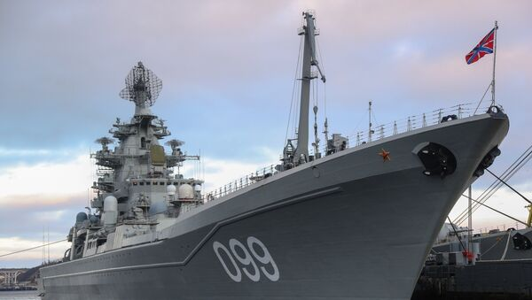 La Marine militaire russe dans le golfe de Kola - Sputnik France