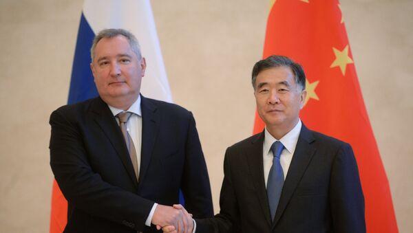 Визит вице-премьера РФ Д. Рогозина в Китай - Sputnik France