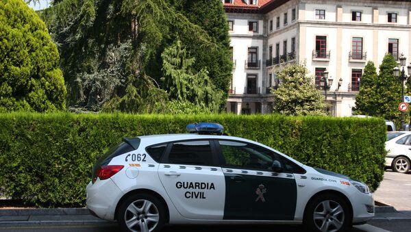 Une voiture de la Garde civile espagnole - Sputnik France