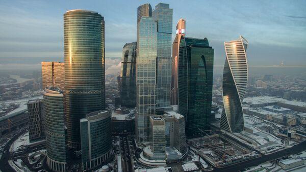 Le quartier d'affaires Moscow City - Sputnik France