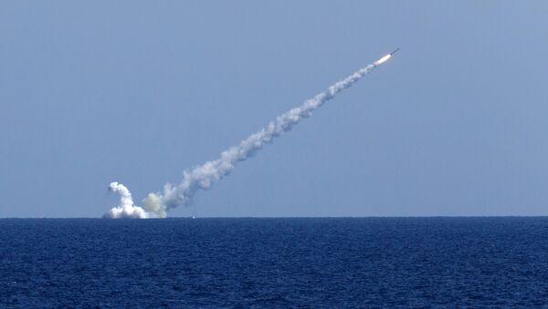 Le sous-marin Veliki Novgorod frappe Daech en Syrie aux missiles Kalibr (archive photo) - Sputnik France