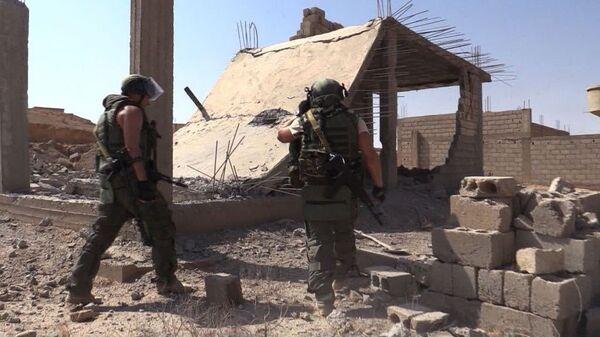 Une opération de déminage à Deir ez-Zor, en Syrie - Sputnik France