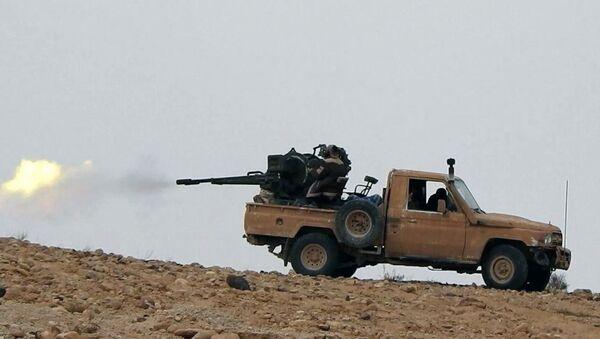 Des terroristes de Daech près de Palmyre - Sputnik France