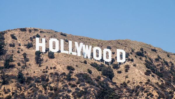 The Hollywood Sign located in Los Angeles, California - Sputnik France
