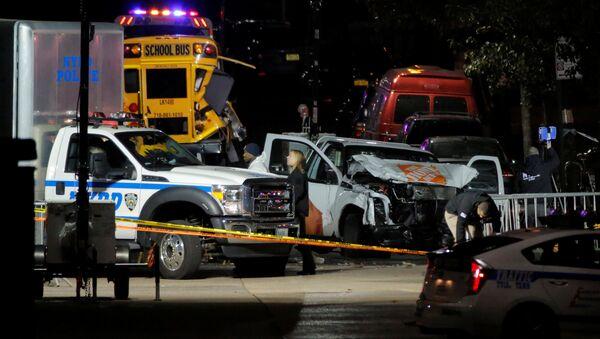La police enquête sur l'attaque au camion organisée à New York - Sputnik France