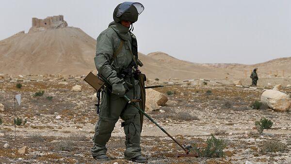 Les sapeurs russes en Syrie (image d'archives) - Sputnik France