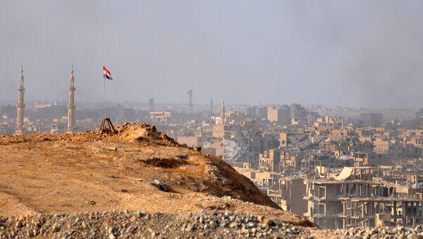 La ville de Deir ez-Zor lors de l'opération de libération lancée par l'armée syrienne - Sputnik France