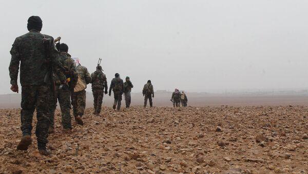 Les Forces démocratiques syriennes à Deir ez-Zor - Sputnik France