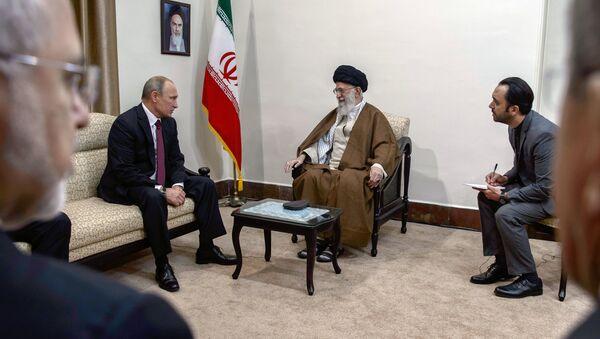 Рабочий визит президента РФ В. Путина в Иран - Sputnik France