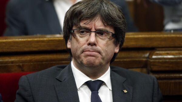 Carles Puigdemont - Sputnik France