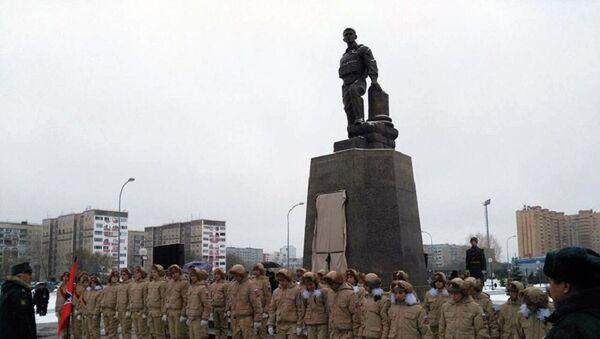 памятник Александр Прохоренко Сирия Оренбург - Sputnik France