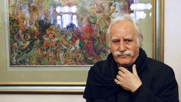 Mahmoud Farshchian, grand maître de la miniature persane - Sputnik France