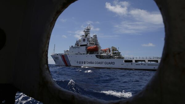 Un navire de la Garde côtière chinoise - Sputnik France