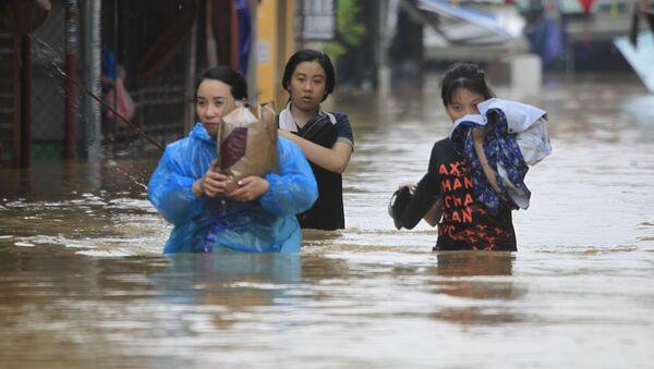 Conséquences du typhon au Vietnam - Sputnik France