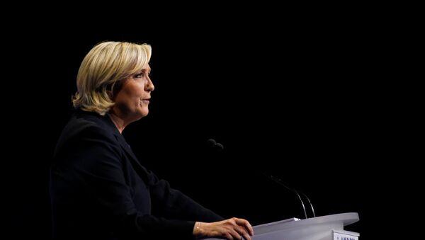 Marine Le Pen, la líder del Frente Nacional y candidata a la presidencia francesa - Sputnik France
