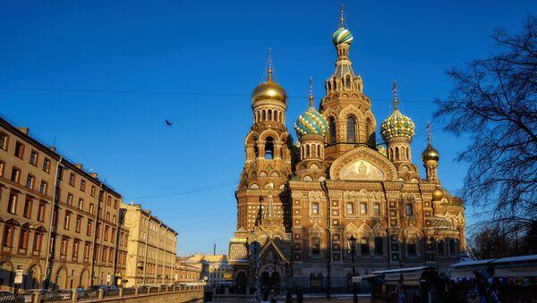 La cathédrale du Sauveur-sur-le-Sang-Versé à Saint-Pétersbourg - Sputnik France