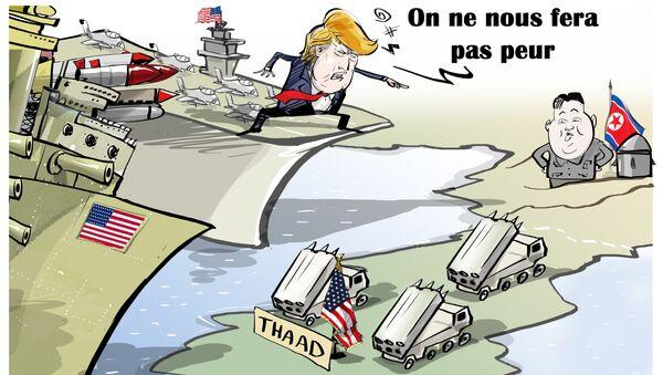 «On ne nous fera pas peur»: Trump appelle à davantage d'isolement de la Corée du Nord - Sputnik France