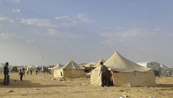 Le camp de réfugiés syriens d'Al-Rukban - Sputnik France