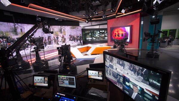 Russia Today channel - Sputnik France