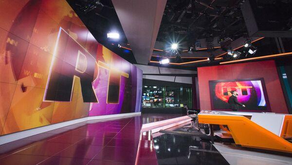 La chaîne de télévision RT - Sputnik France