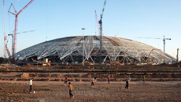 Le stade Samara Arena en chantier - Sputnik France
