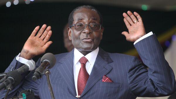 Le Président zimbabwéen Robert Mugabe - Sputnik France