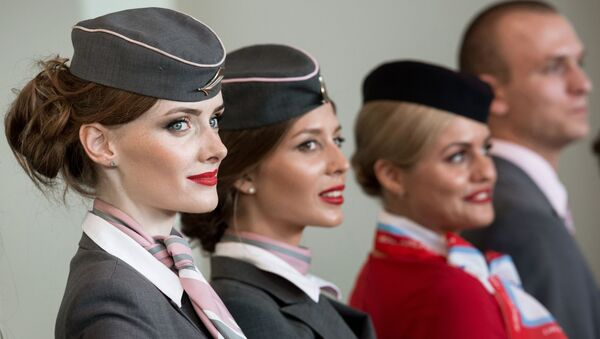 Hôtesses de l'air - Sputnik France