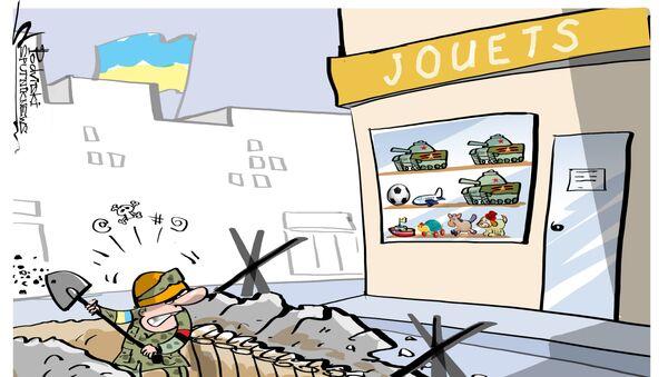 Des «chars russes» à Kiev - Sputnik France