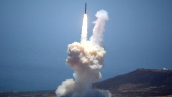 Un missile de la DCA américaine testé en Californie (image d'illustration) - Sputnik France