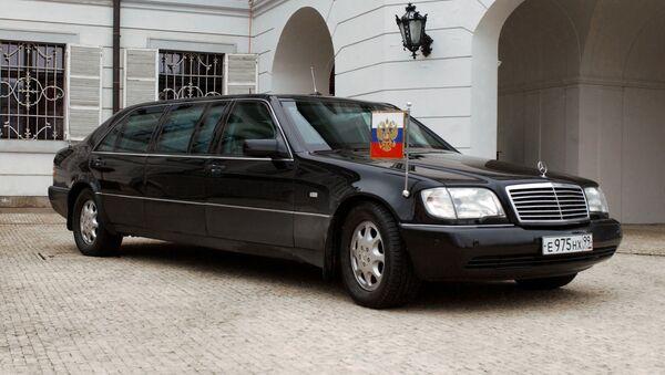 President Vladimir Putin's car - Sputnik France
