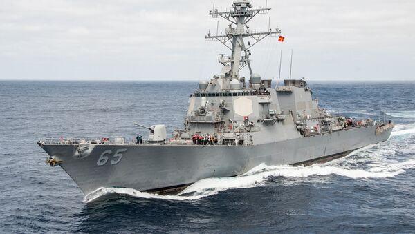 USS Benfold  - Sputnik France