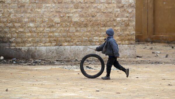 Un village de la province syrienne d'Alep - Sputnik France