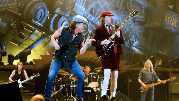 El grupo de rock AC/DC - Sputnik France