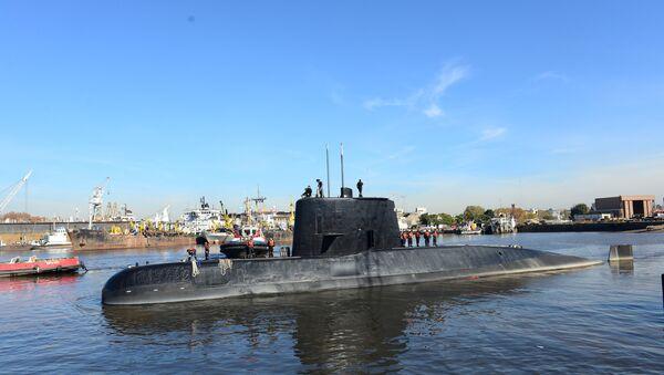 Le sous-marin argentin ARA San Juan - Sputnik France