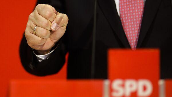 SPD-Zentrale zu ersten Bundestagswahl-Schätzungen - Sputnik France