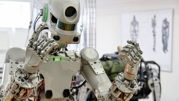 Robot Fedor - Sputnik France