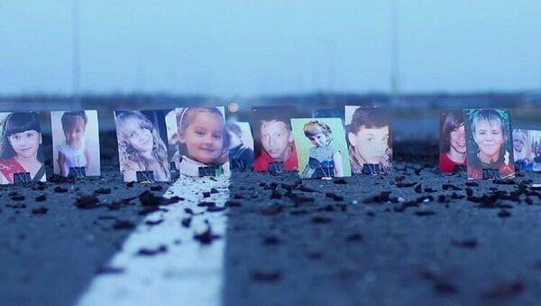 Les portraits d'enfants péris et blessés lors du conflit dans l'Est ukrainien - Sputnik France