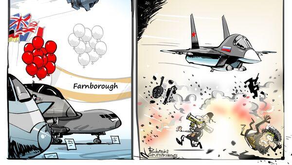 La participation de la Russie au salon de l'aéronautique de Farnborough sera limitée - Sputnik France