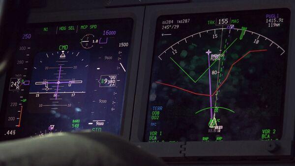 Radar en uno de los aviones que participan en la búsqueda del submarino ARA San Juan - Sputnik France