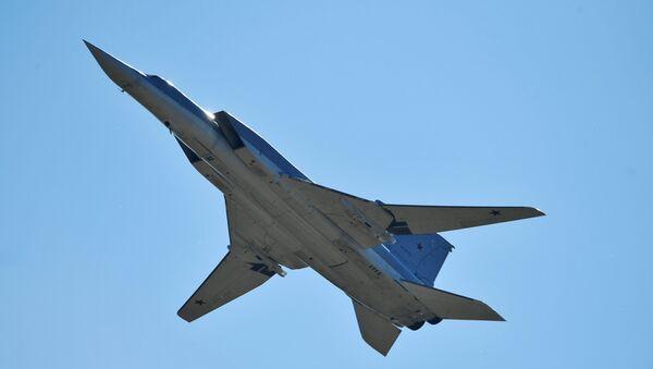 Un bombardier à long rayon d'action Tu-22M3 (image d'archives) - Sputnik France