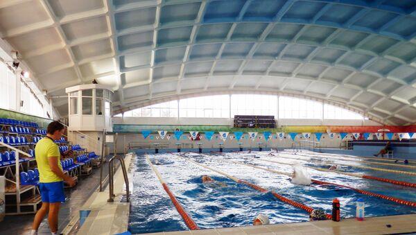 La piscine du Centre de sport Évolution - Sputnik France