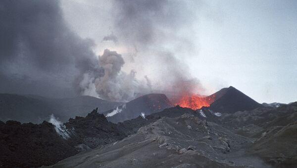 Le volcan Klioutchevskoï, au Kamtchatka - Sputnik France