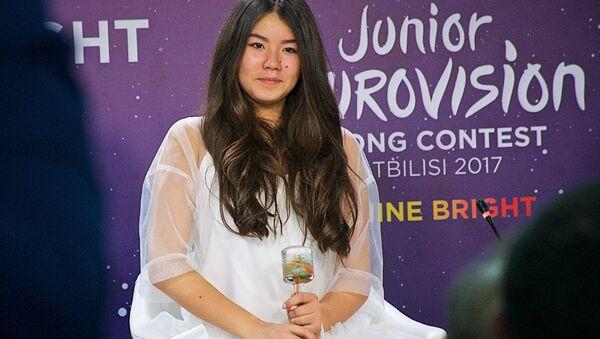 La chanteuse russe Paulina Bogoussevitch, vainqueur de l'Eurovision de la chanson junior 2017 - Sputnik France